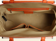 Shimmering Yu Top Handle - Orange and Original