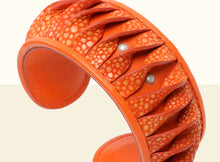 Shimmering Yu Bracelet  - Orange