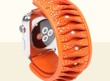 Preorder - Shimmering Yu Apple Watch Band 38mm- Orange