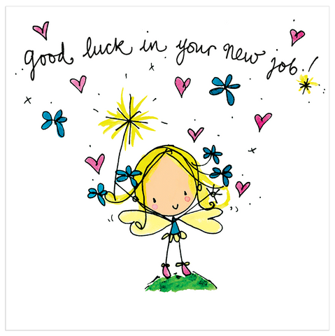Greeting cards tagged new job juicy lucy designs trade good luck in your new job m4hsunfo