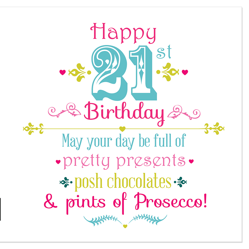 happy 21st birthday Happy 21st Birthday – Juicy Lucy Designs Trade happy 21st birthday
