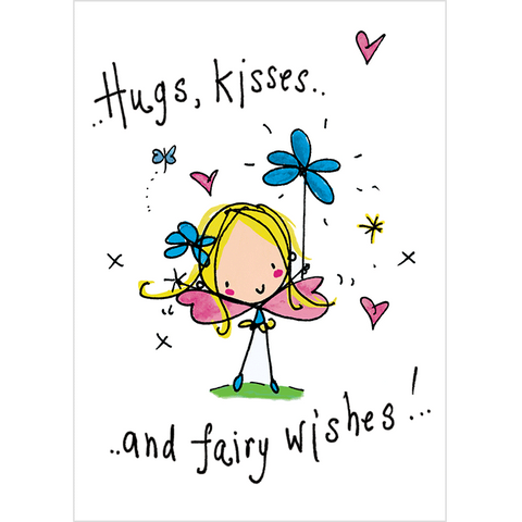 Hugs, Kisses and Fairy Wishes!
