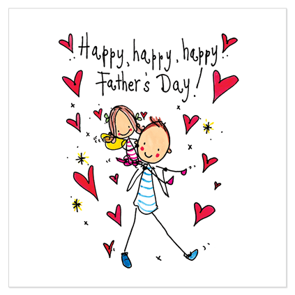 Happy, happy, happy Father's Day!