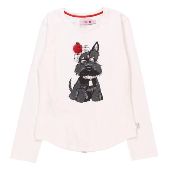 Chic L/S Tee | Scottie Dog