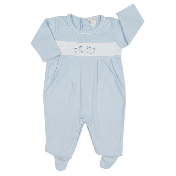 Twin Rockers Romper | Blue