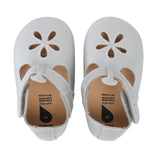 Soft Sole Silver Girls Sandal