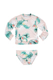Baby Rashie Set | Hawaii Pink