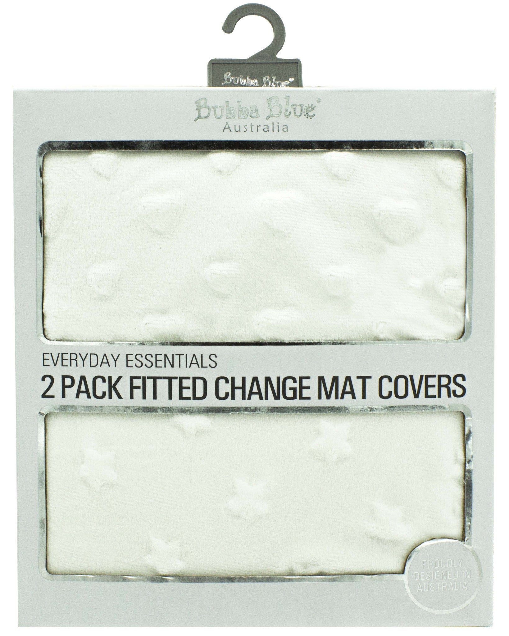 Essentials Change Mat Covers 2pk - Heart|Star