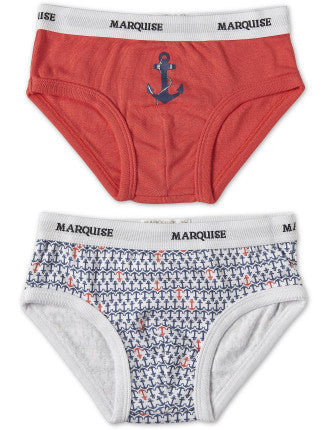 Boys Undies 2Pack | Ahoy