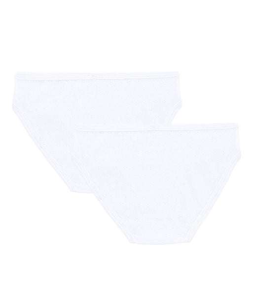 2pk Knickers | White