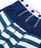 2pk Boxer Shorts | Navy/Stripe