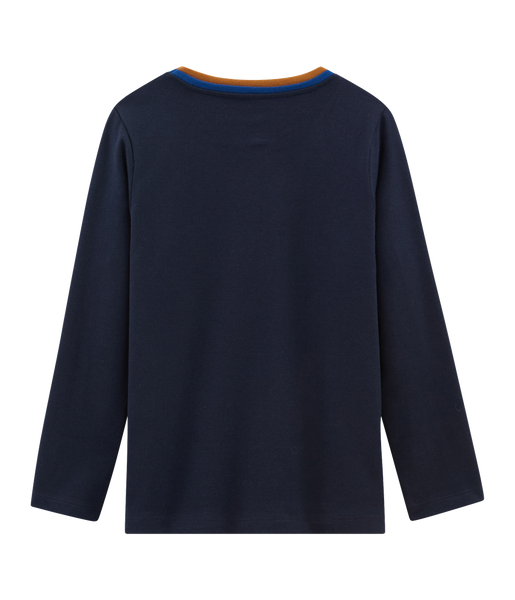 L/S Navy Tee Shirt | Grand Froid