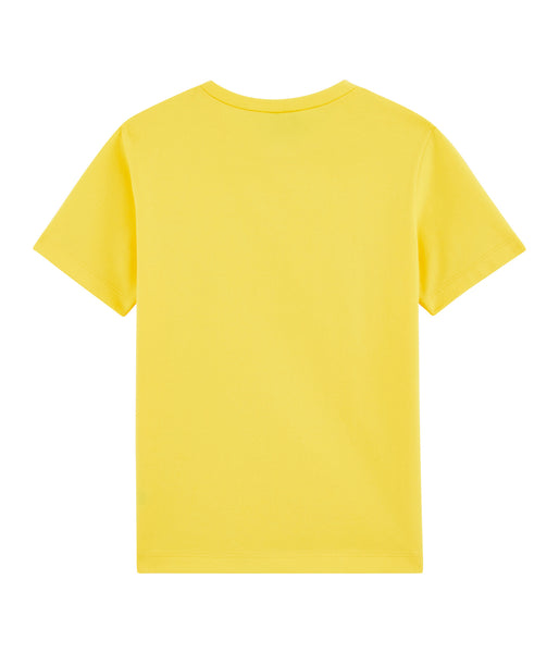 S/S Pocket Tee Shirt | Yellow