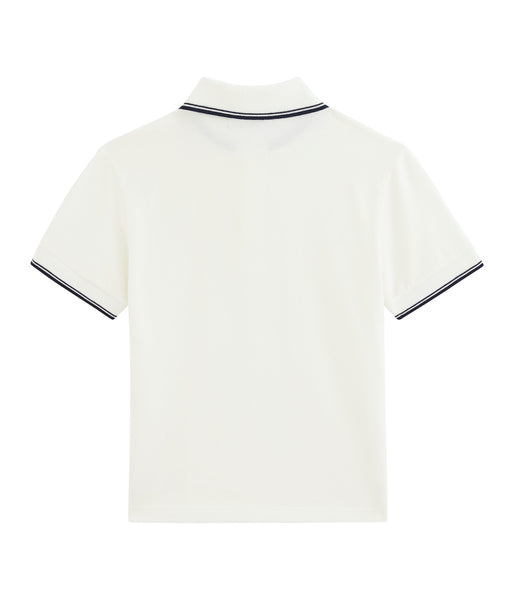 S/S Polo Shirt | White