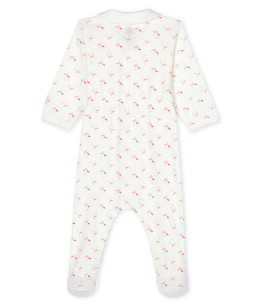Footed Romper | Flamingos