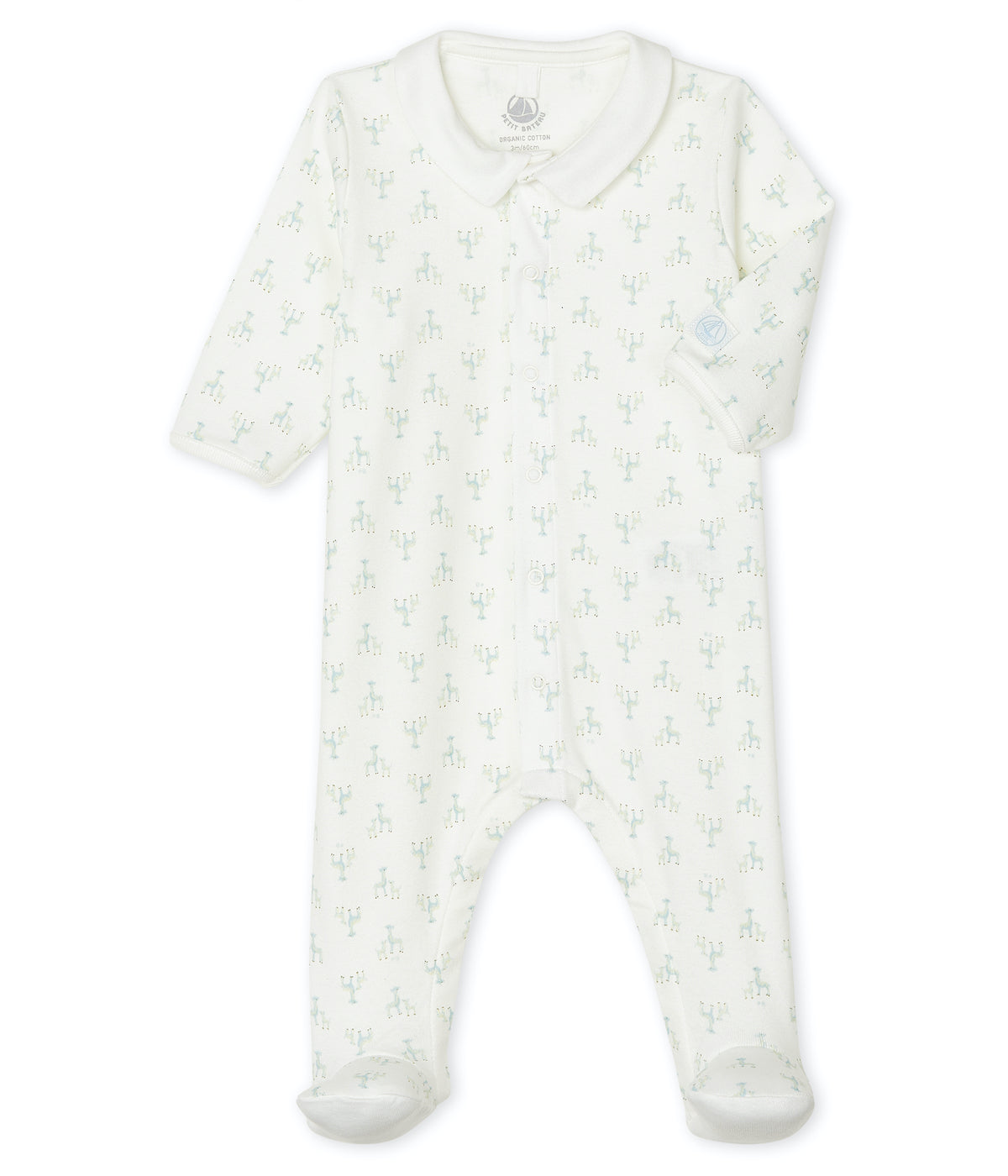 Footed Romper | Giraffes
