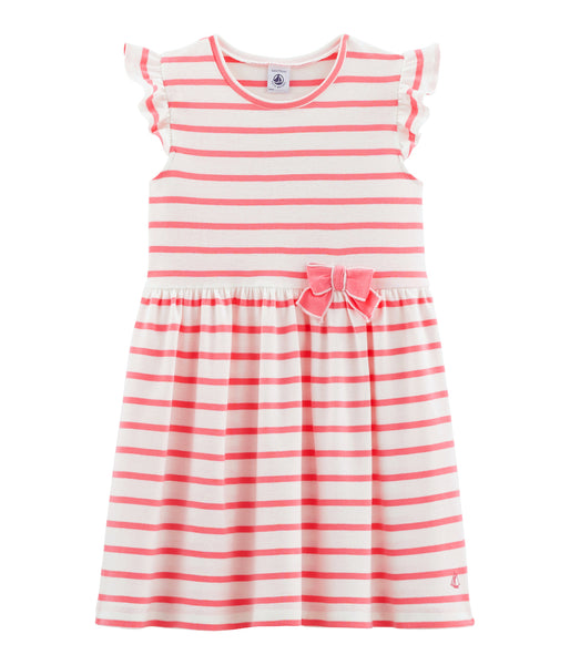 S/S Dress | Pink Stripe