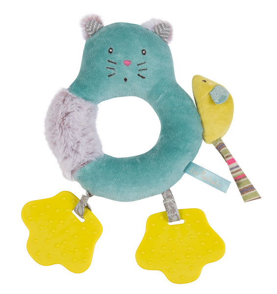 Les Pachats Cat Ring Rattle