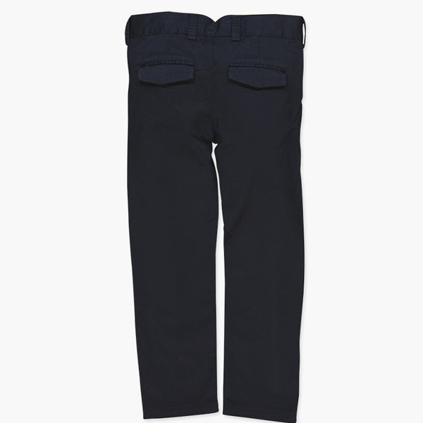 Satin Trousers | Navy