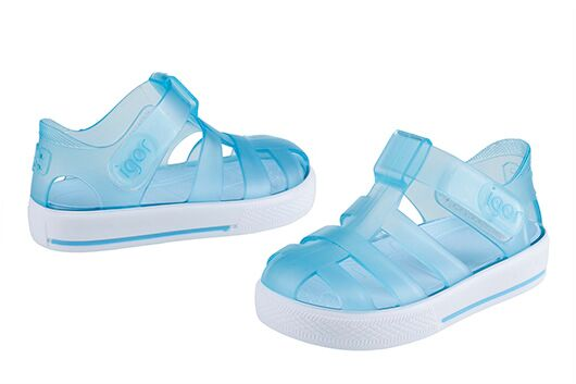 Star Jelly Sandal | Blue