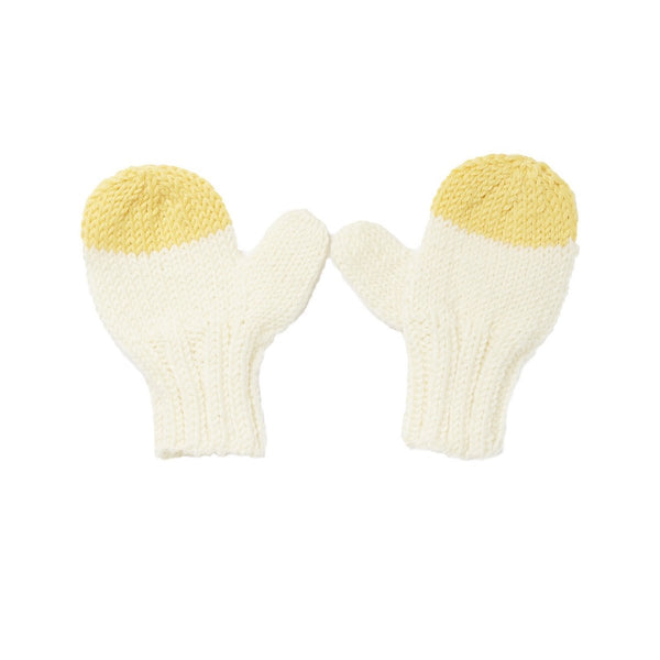 Sunrise Mittens | Cream (S-M)