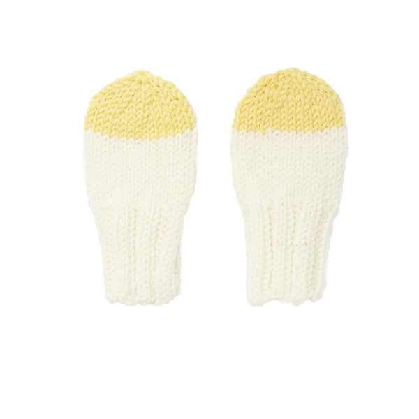 Sunrise Mittens | Cream (XXS-XS)