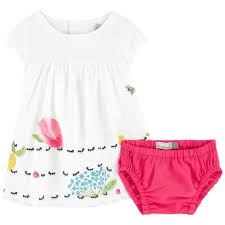 Ants Top & Bloomers | White/Fuchsia