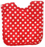 Bib | Red & White Polka