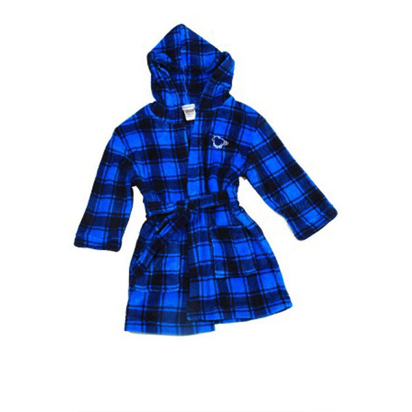 Dressing Gown | Blue Check - SALE