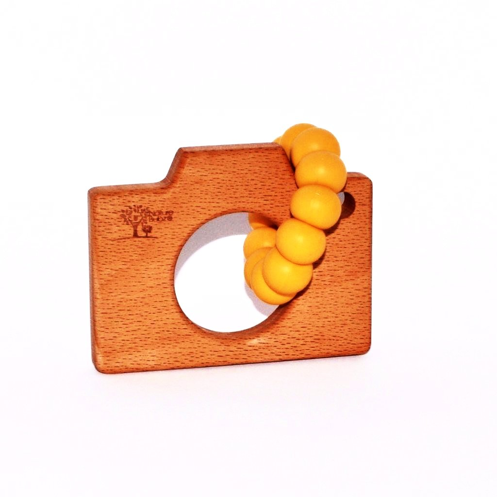 Camera Teether | Assorted Colours