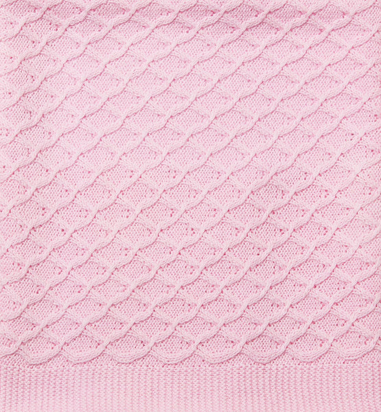 Cotton Lace Bassinet Blanket