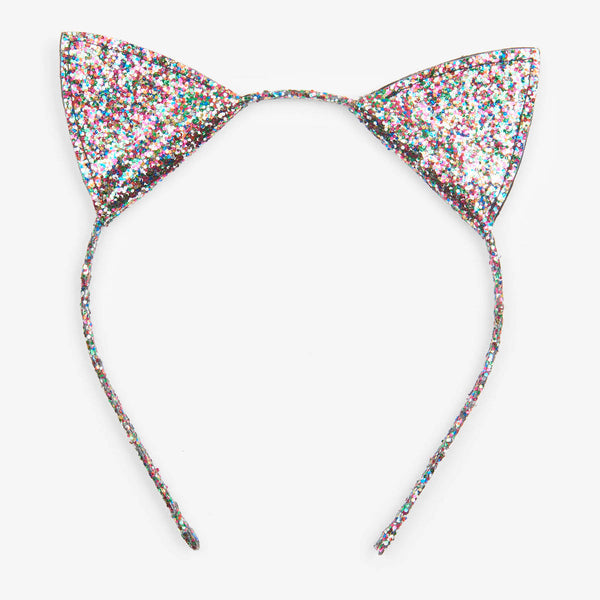Glitter Kitty Ears Headband