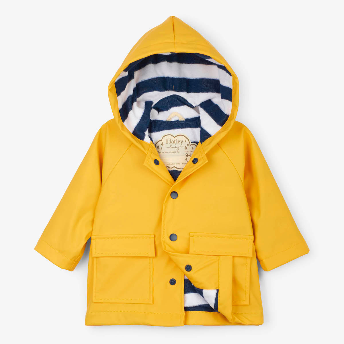 Baby Raincoat | Yellow