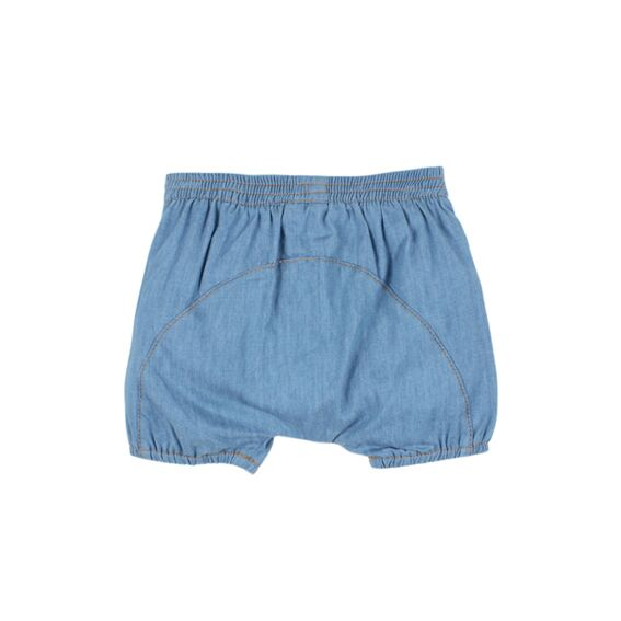 Birdie Short w/Fringing | Chambray - SALE