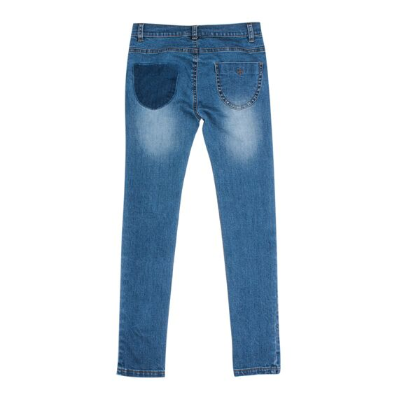 Chicago Shadow Patch Denim Jeans - SALE