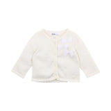 Bow Cardigan | Cloud