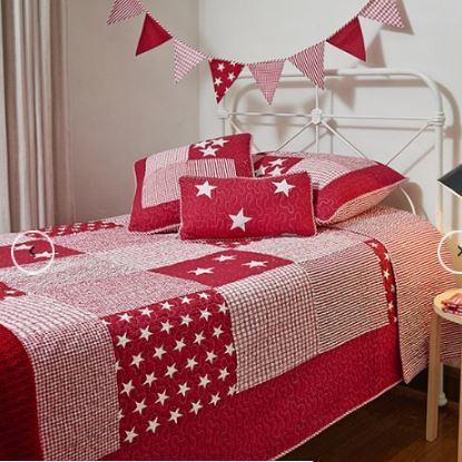Lachlan Red Cot Quilt