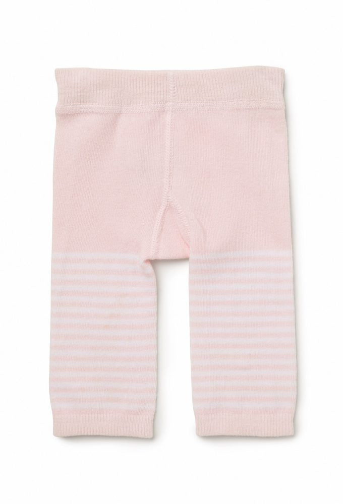 Footless Tights | Pink Stripe