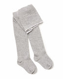 Knitted Tights - Grey Marle