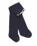 Knitted Tights - Navy