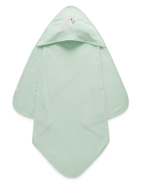 Hooded Towel | Eucalyptus Green Melange