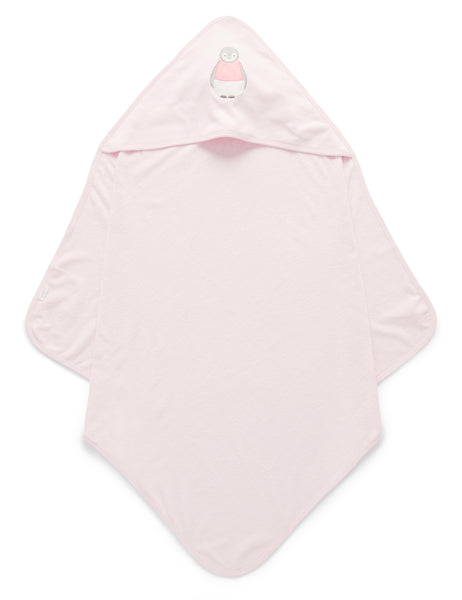 Hooded Towel | Soft Pink
