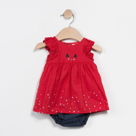 Baby Dress w Bloomers | French Kitty