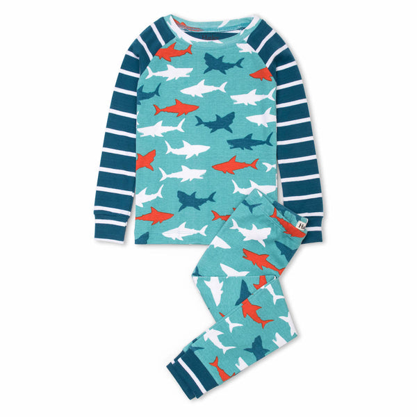 L/S Pyjamas | Great White Sharks