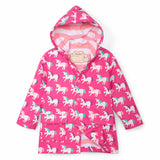 Colour Changing Raincoat | Mystical Unicorns