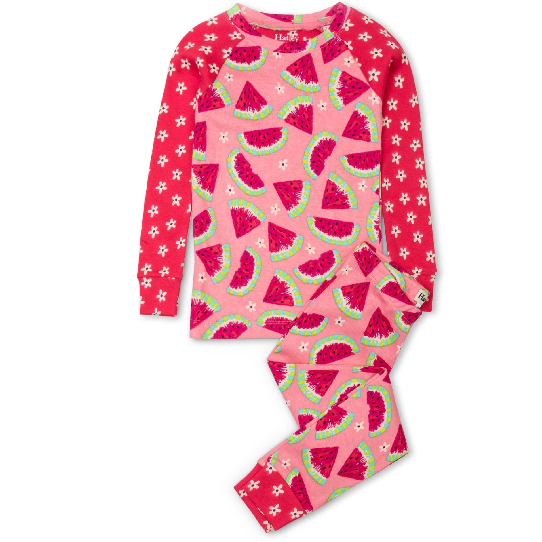 L/S Pyjamas | Watermelon Slices