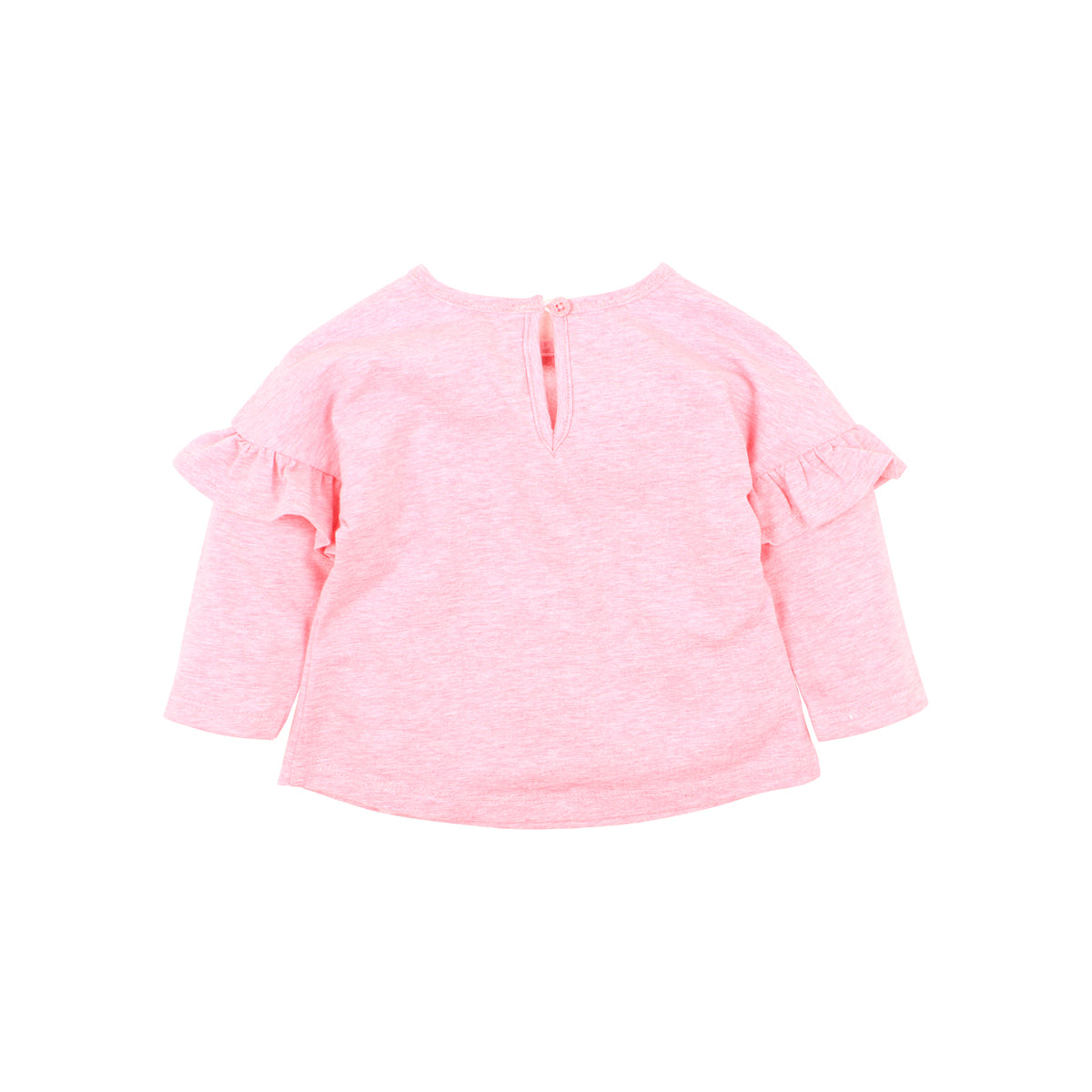 Rose Bunny Top | Pink Marl