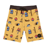 Daily Radness Board Shorts | Vintage Yellow