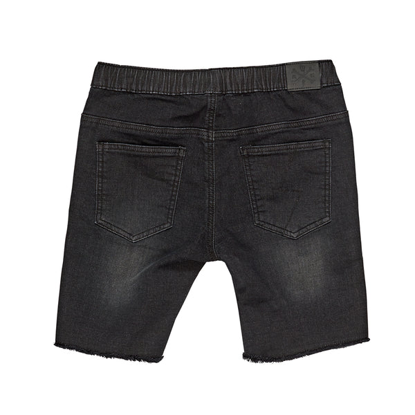 Phantom Jogg Jean Shorts | Black Denim - SALE