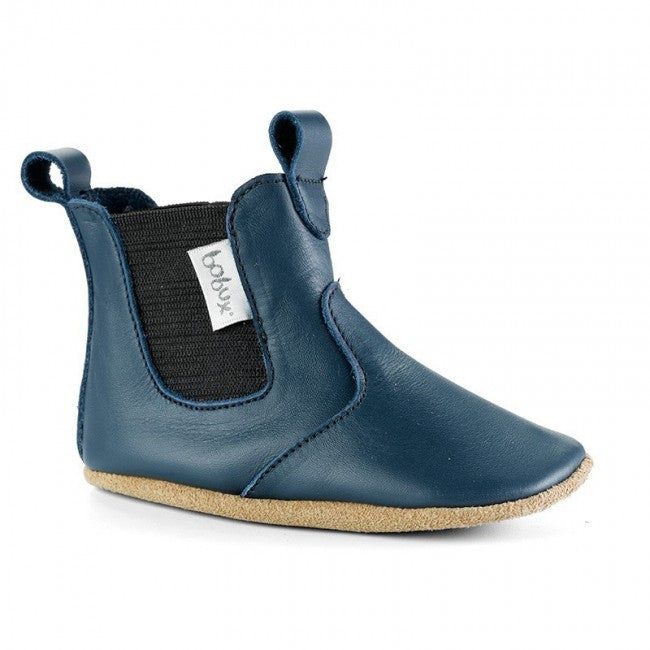 Soft Sole Chelsea Boot - Navy